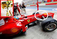 India GP: Ferrari sparks diplomatic row