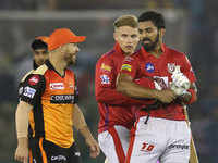 Rahul guides Kings XI Punjab home against Sunrisers Hyderabad