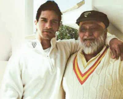 Angad Bedi to write and direct film based on his father and former cricketer Bishan Singh Bedi