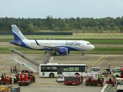 IndiGo bus hits Air India employee