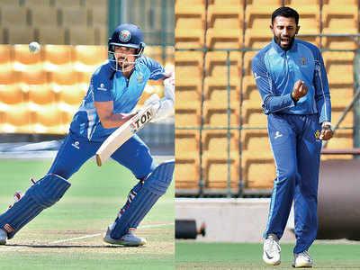 Vijay Hazare Trophy: Manish Pandey, Shreyas Gopal star as Karnataka beat Andhra Pradesh