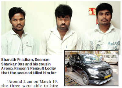 Ex-soldier's son killed for his car that these 3 hired