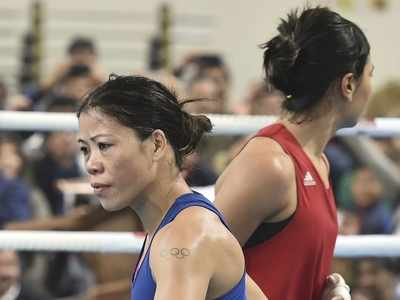Mary Kom beats Nikhat Zareen in high-voltage trial to make Indian team for Olympic qualifiers