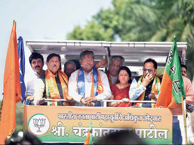Campaign budget allows mere tea, show candidates