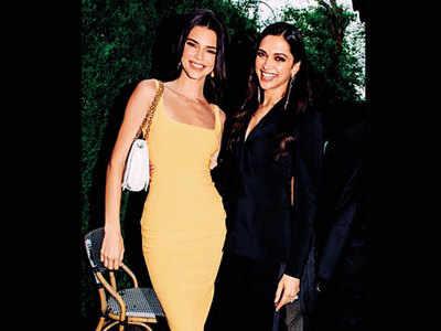 When Deepika Padukone met Kendall Jenner