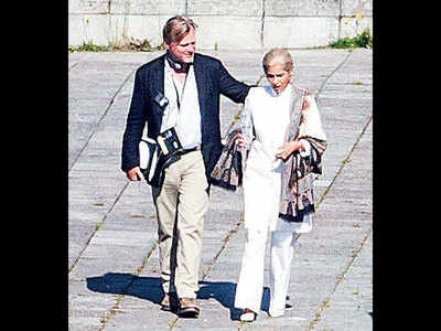 Snapped! Dimple Kapadia on the sets of Christopher Nolan's Tenet