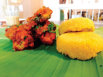 There are plenty of places in Bengaluru where you can find delicious Chicken Ghee Roast