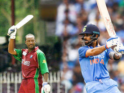 Kohli overtakes Lara on ODI run-scorers' list