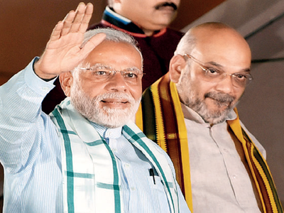 RSS' advice to BJP: Give up reliance on Modi & Shah