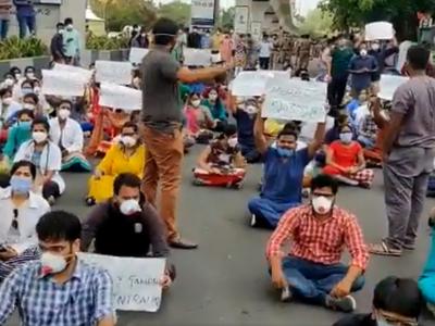 JUDAs end strike at Gandhi Hospital, resume work conditionally