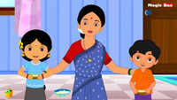 Children Telugu Nursery Rhyme 'Papa Papa Levamma' - Kids Nursery Rhymes In Telugu