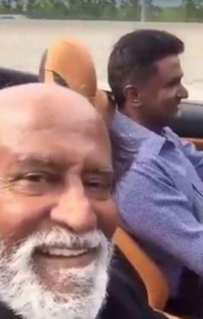 Thalaiva aka Rajinikanth sets social media ablaze with his first selfie video