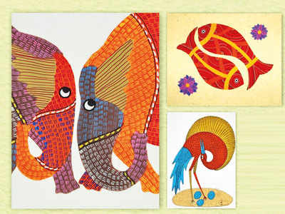 PLAN AHEAD: Try Gond painting