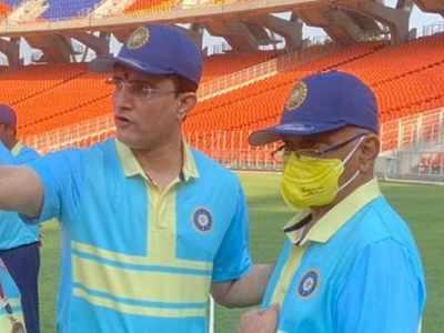 Sourav Ganguly slams 51 but Jay Shah XI beats his side in Motera Friendly