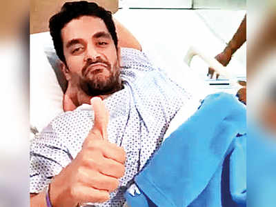 Few weeks of bed-rest for Angad Bedi