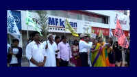 Palm Sunday: Members of Christian community in Visakhapatnam take out rally carrying palm fronds