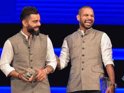 Watch: Shikhar Dhawan pulls Virat Kohli's leg, reveals his dressing room playlist