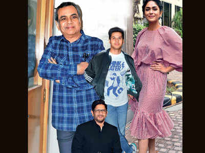 Abhimanyu Dassani, Mrunal Thakur join Paresh Rawal and Arshad Warsi for Umesh Shukla's comedy