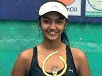 Pavitra Parikh wins girls' under-14 doubles title