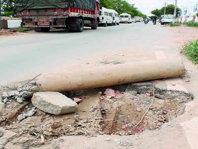 Uncertainty over green footpath in Bellandur