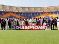India crush England to clinch Test series, seal WTC final spot