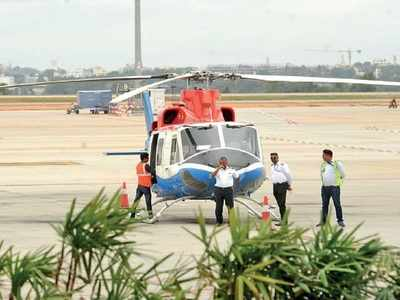HAL in heaven: Thanks to charter flights and joy rides, HAL airport is buzzing with activity after 12 years