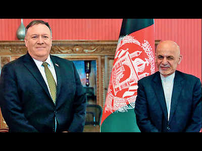 Pompeo in Kabul to revive peace talks