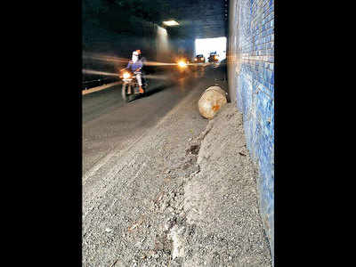 Swargate underpass is under the weather