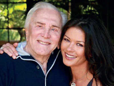 Zeta-Jones wishes 'hero' father-in-law