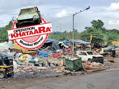 Operation Khataara: Chembur's Pestom Sagar at wits' end over khataaras; Residents suggest scrapping old vehicles