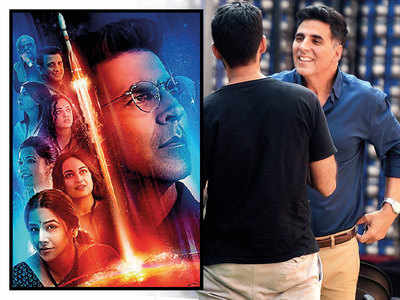 Akshay Kumar plays a senior scientist in Mission Mangal