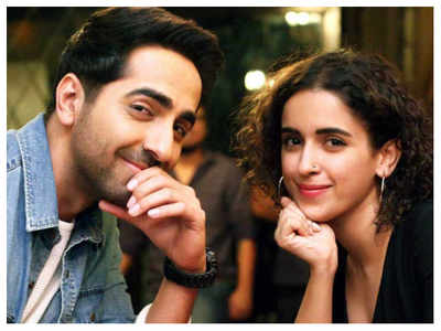 Watch: Ayushmann Khurrana and Sanya Malhotra to finally reveal the actor's 'Khush Khabri' tomorrow!