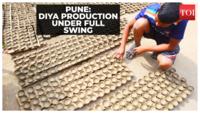 Diwali 2021: Potters prepare diyas ahead of festive season in Pune