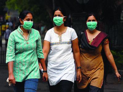 Swine flu scare at tech park