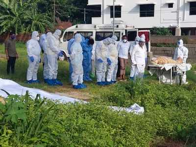 Mangaluru MLA participates in burial ceremony without PPE, violates COVID-19 guidelines