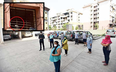 Residents near PMC quarantine facility in Kharadi move out citing infection fears