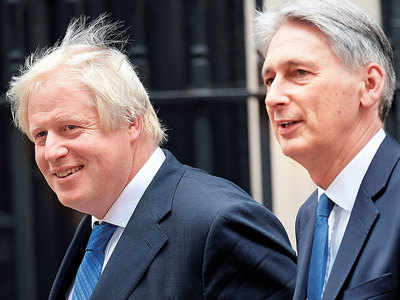 UK's chancellor to quit if Johnson becomes PM