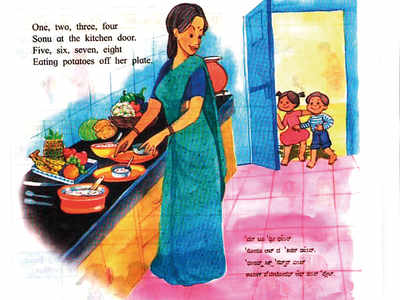 Mom in the kitchen, dad at work – kids will no longer see this stereotype in revised Maharashtra school textbooks