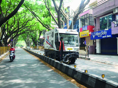 Many more mechanical sweepers, many more problems