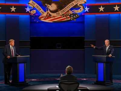 Donald Trump, Joe Biden go on the attack in fiery, chaotic first presidential debate