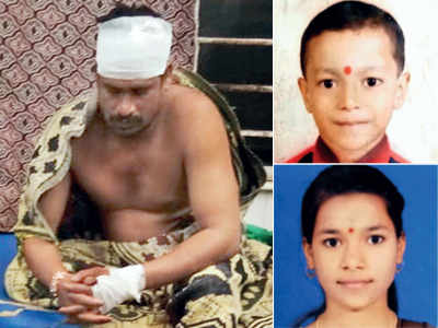 2 siblings crushed by tanker in Thane as bike skids on pothole