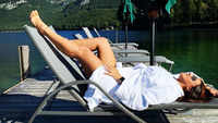 Neha Dhupia beats the heat in Austria, sets vacation mood with her latest photograph