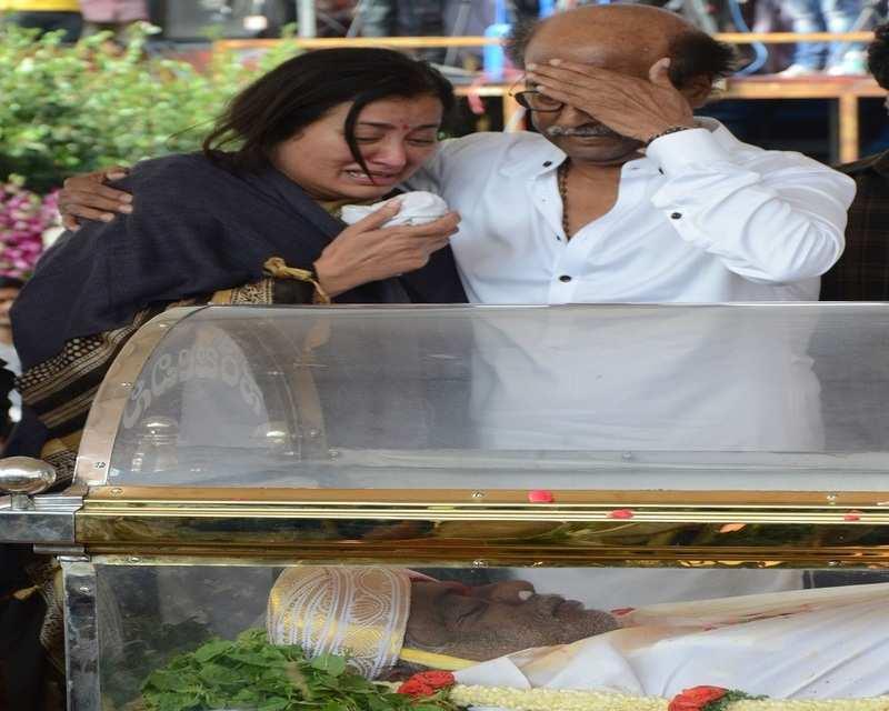 Rajinikanth breaks down
