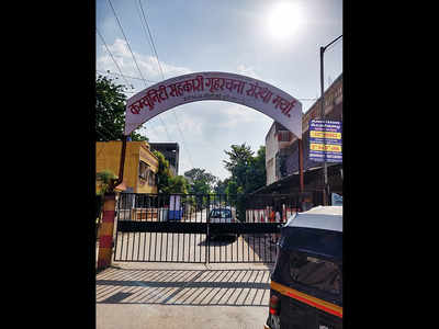 Hsg colony shuts its gates on public road in Kondhwa