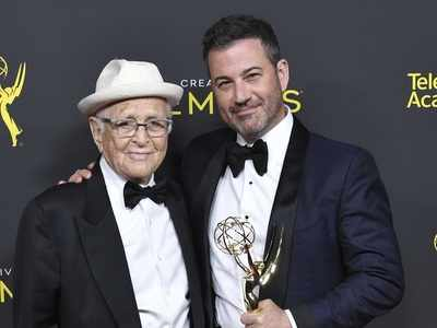 Norman Lear, 97, becomes oldest Emmy winner