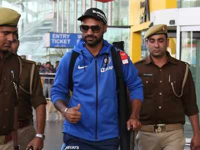 Shikhar Dhawan quarantined in New Delhi after returning from Germany, shares video