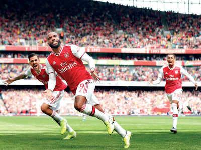 Aresenal's Pierre-Emerick Aubameyang seals 2-1 win against Burnley in Premier League