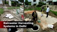 Delhi: Highrises begin to install rainwater harvesting systems