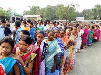 Live: Voting under way in biggest phase, a 5th of LS seats up for grabs