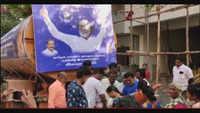 Rajinikanth's Rajini Makkal Mandram distributes water in Chennai